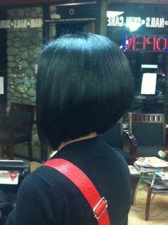360 degree of a concave bob hairstyle so many people have asked for a 360 degree view of my a