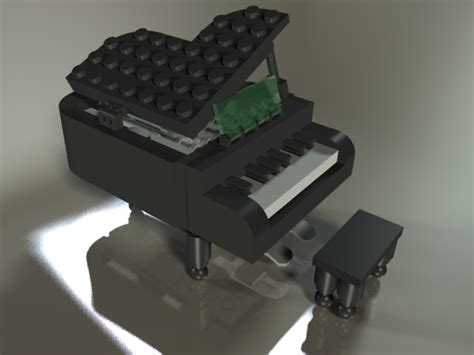 lego keyboard tutorial lego piano from china ironcad stl step iges 3d cad