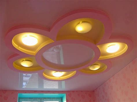 Low Ceiling Fan Options by How To Install A Drywall Ceiling Design With A Flower