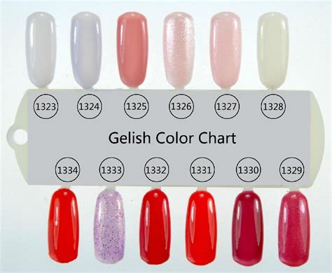 gelish color chart gelish soak gel color chart china cosmetics