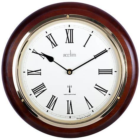 buy acctim durham radio controlled wall clock, dia.32cm