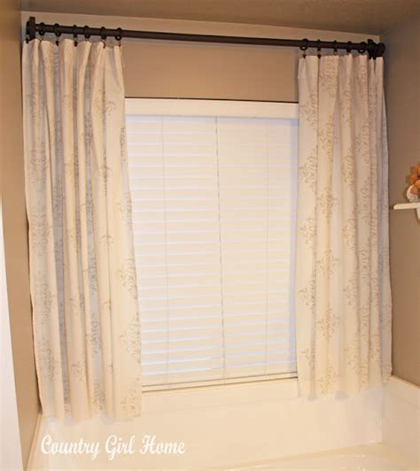 stencil curtains country girl home how to stencil fabric drapes