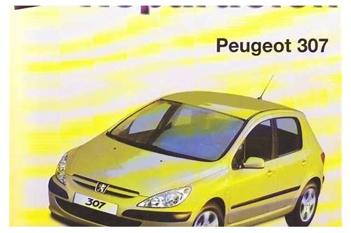 descarga del manual de peugeot 307 cc 2005