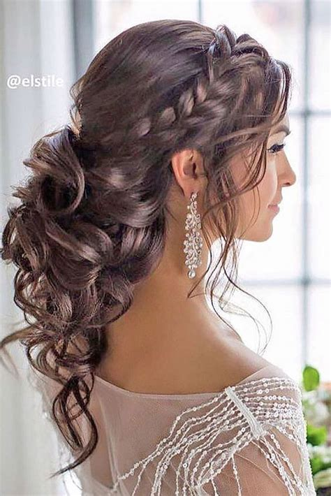 how to curl loose curls on a side ethnic hair best 25 curly braided hairstyles ideas on pinterest
