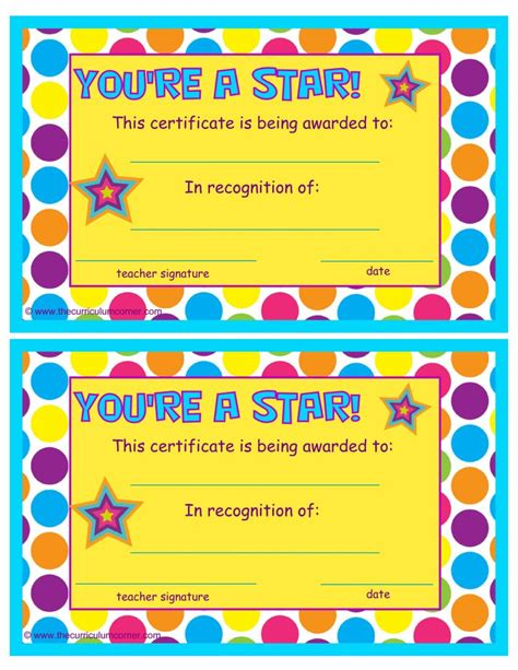 most improved student award 1 free word templates customizable