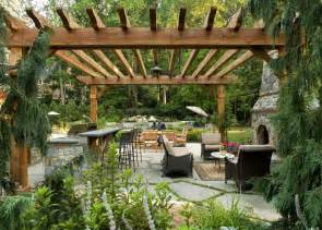 Flagstone Patio With Pergola by Create An Outdoor Oasis You Ll Never Want To Leave Home