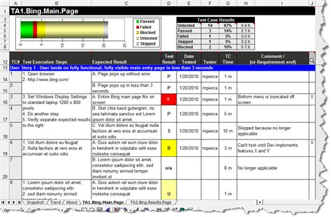 test plan template exle windows test gear test manager lite free excel