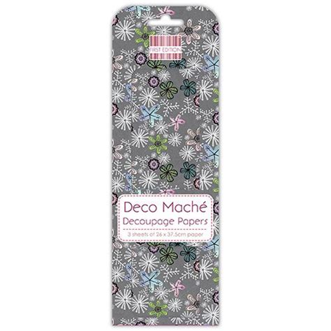 Deco Mache Decoupage Papers - offer edition deco mache patterned decoupage