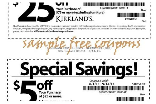 kirkland home online coupon code
