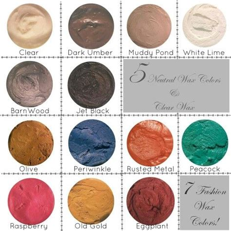 heirloom traditions wax color card heirloom traditions paint colors cards and wax