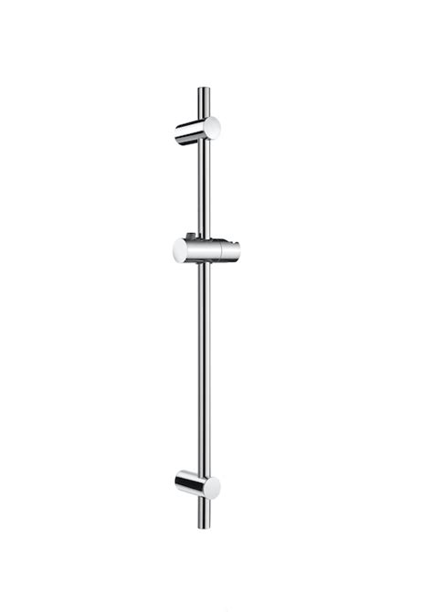 barra para ducha barra de ducha de 700 mm regulable en altura con soporte