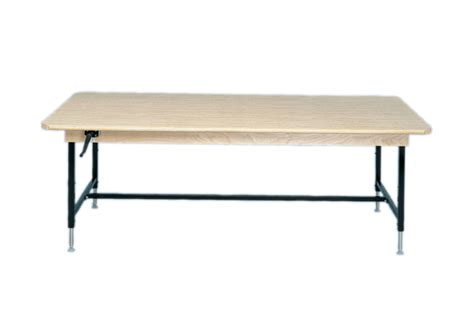 48 x 96 table work table manual hi low 48 x 96 inch