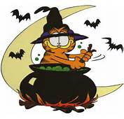 Halloween Garfield Cartoon Character Clipart Picture Image 1  I