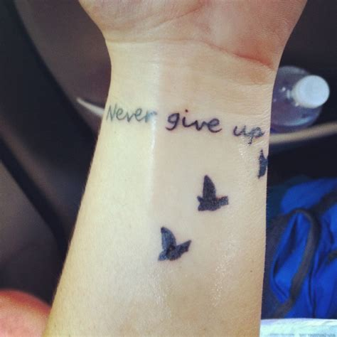 tattoo quotes for never giving up 12 best images about never give up tattoos on pinterest