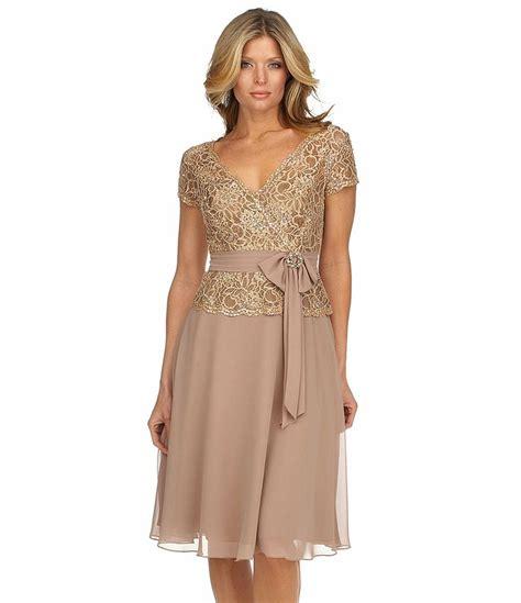 mother bride dresses dillards tbdresscom km collections beaded lace dress dillards com mother