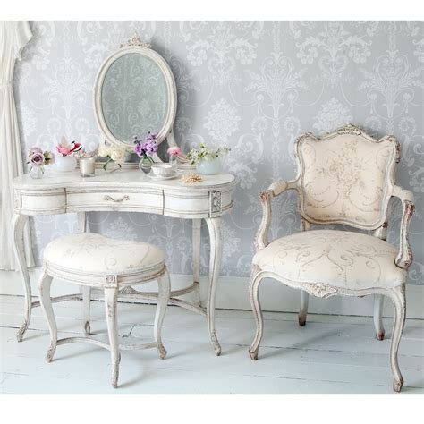 shabby chic bedroom chairs delphine shabby chic dressing table french bedroom company