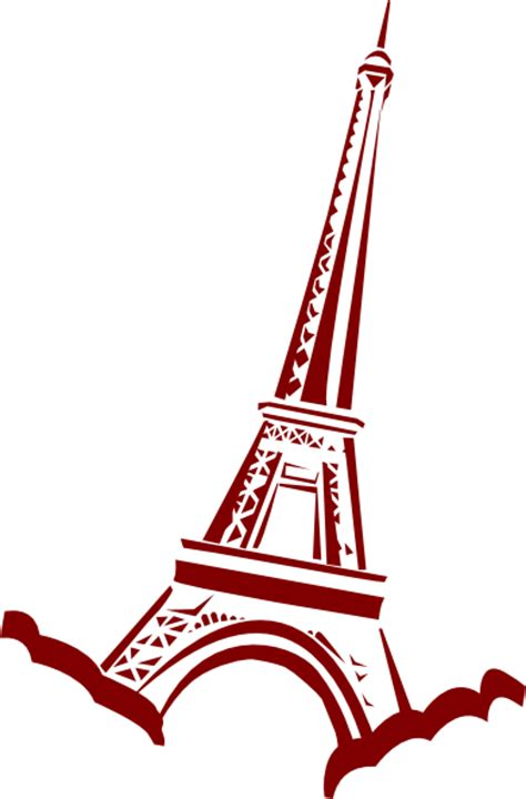 Barbie Wall Stickers eiffel tower clip art cliparts co