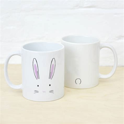 bunny rabbit mug by ellie ellie notonthehighstreet com