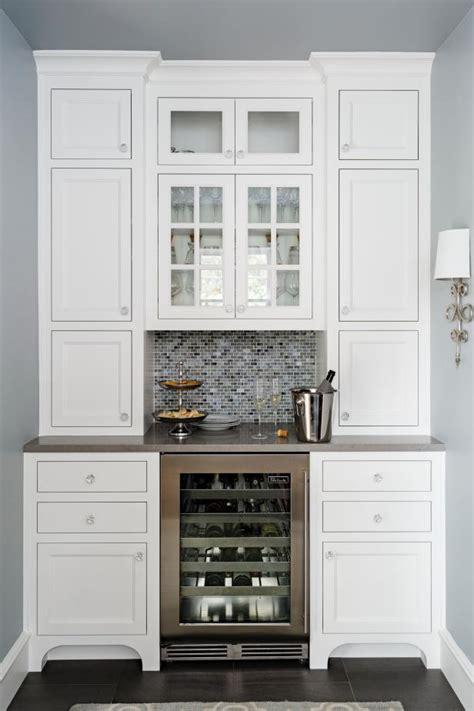 butlers pantry  built  wine storage hgtv