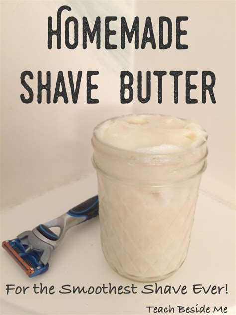 Handmade Gifts For Dads - easy shave butter for or teach beside me
