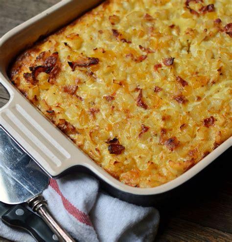 brunch recipe bacon potato egg breakfast casserole