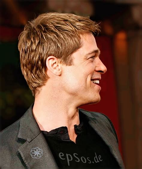 brad pitt short hairstyles for men short hairstyles make angelina jolie happy epsos de