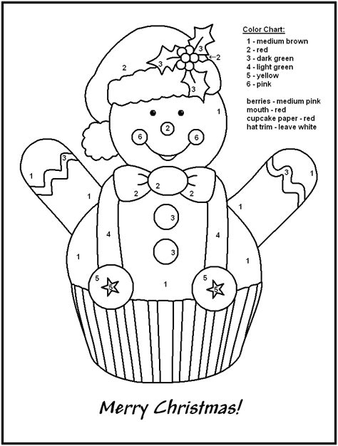 color by numbers holiday coloring pages coloring pages christmas color by numbers coloring pages