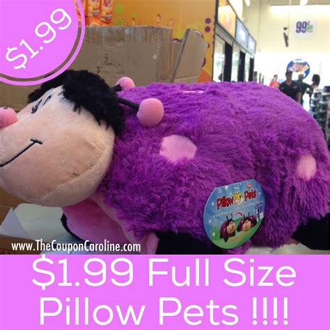 Stores That Sell Pillow Pets by Wow Size Pillow Pets For 1 99 Found At The 99