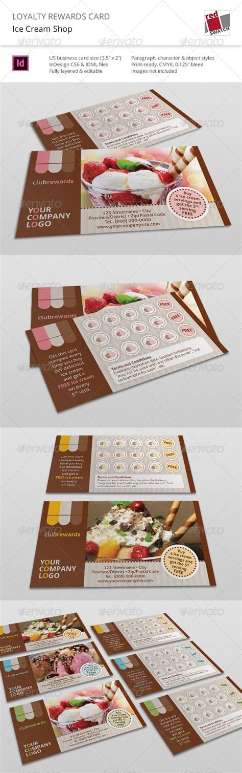 loyalty card template indesign 17 best ideas about loyalty rewards on
