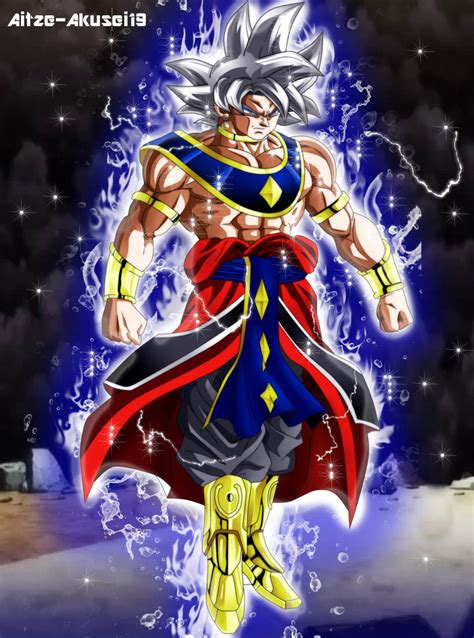 imagenes de goku ultra dios goku dios de la destruccion by aitze akusei19 on deviantart