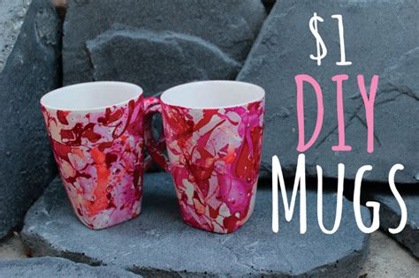 mug design using nail polish nail polish marbling diy 1 mugs
