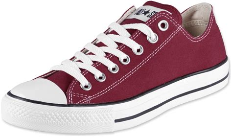 all star converse all star ox shoes maroon