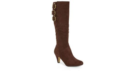 vita transit ii knee high boots in brown brown