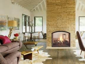 gas fireplace two sided 20 gorgeous two sided fireplaces for your spacious homes
