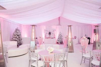 view photos of a pink winter wonderland baby shower | 24/7