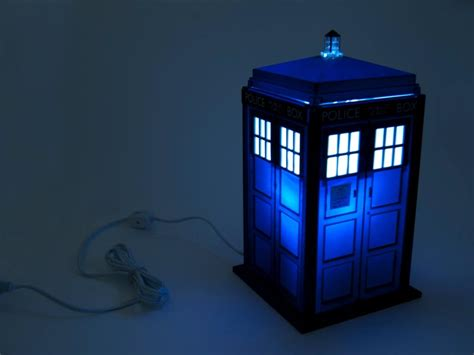 Doctor Who Tardis Night Light Gadgetsin Tardis Lights