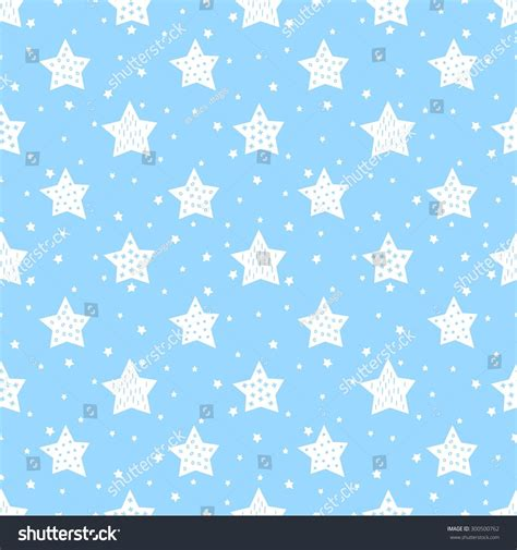 Baby Japan Blue seamless pattern baby stock vector