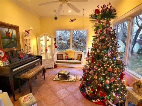 this couple has 50 christmas trees inside their house