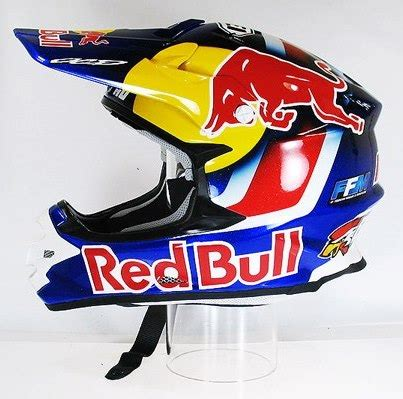 red bull motocross helmet riding gear bikes pinterest
