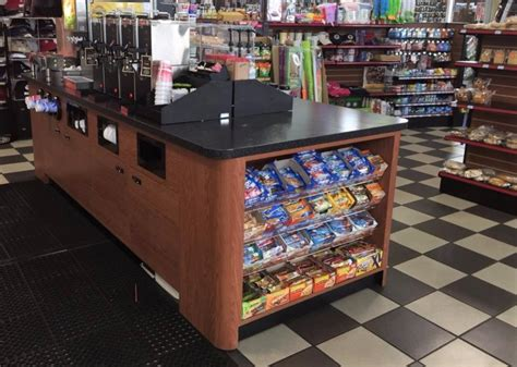 fast food display counters coffee counters handy store