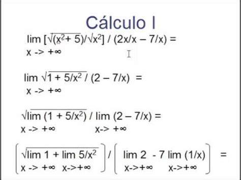 limite tende a infinito limites de radicais quando x tende a ou infinito aula