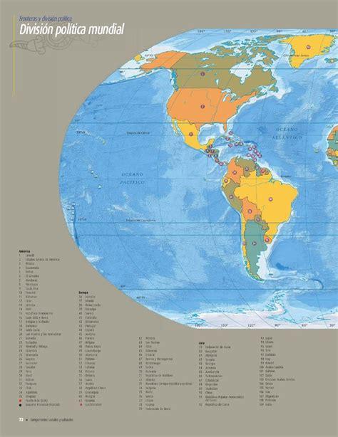 atlas de geografia del mundo 5 a grado pagina 198 l 237 mites fronterizos cap 237 tulo 3 lecci 243 n 1 apoyo primaria