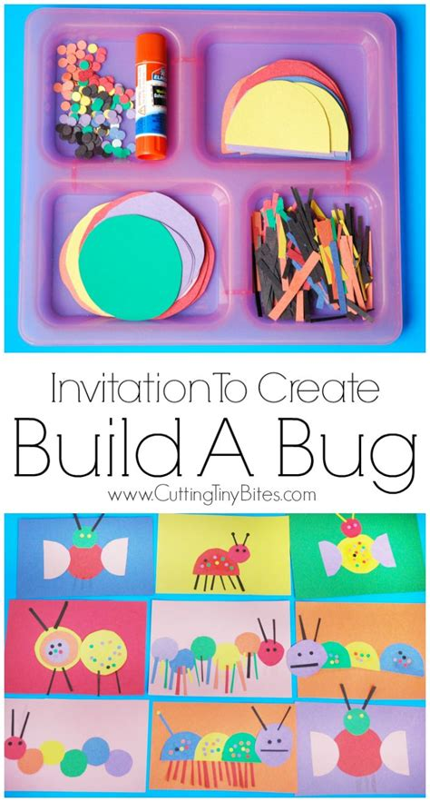 The Paper Company Crafts And Creativity - invitation to create build a bug insects creative and