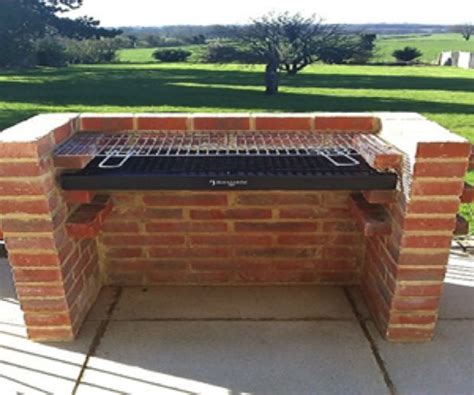 diy pit from gas grill 25 best ideas about brick grill on outdoor