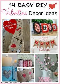 14 easy diy valentine s day decoration ideas that anyone can make