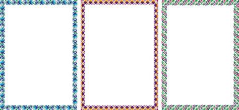Bingkai Foto Frame 2 Sisi contoh border certifikat studio design gallery best design