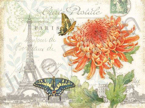carte postale shabby chic get the french look live
