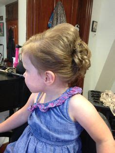 wedding hairstyles for toddlers 1000 images about toddler updo s on toddler