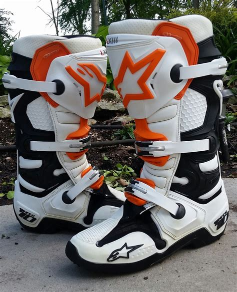 size 11 motocross boots alpinestars ktm boots size 9 11 12 tech 10 7 for