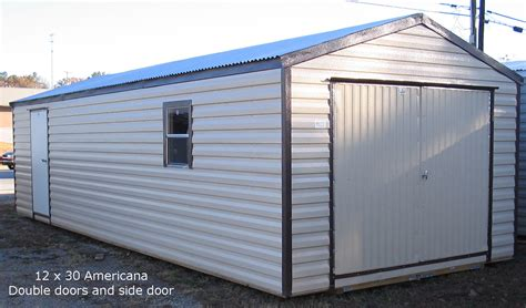 Aluminum Sheds by Portable Sheds Are Great To Empty Out Your Garage And Get